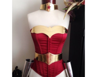 Wonder Woman armor DC Comics costume accessories CLASSIC