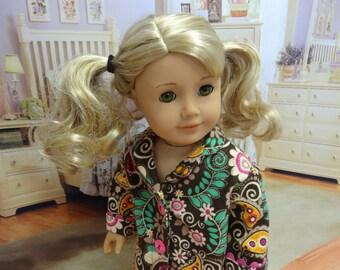 Pajamas for American Girl - Bohemian Paisley