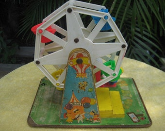 Vintage Fisher Price Ferris Wheel