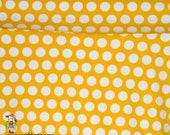 Knit Yellow Bella 1 yard dots lycra cotton