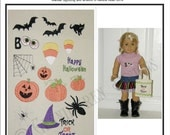 Mini Hallowe'en Embroidery Design Set