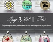 Glass Dome Pendant Necklace Special-Buy 3 Get 1 Free