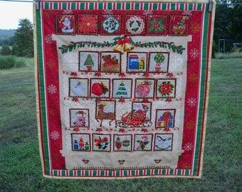 Advent Calendar Christmas Decor Housewares Holiday Wall Decor