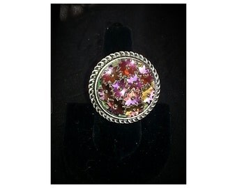 Vintage upcycled ring