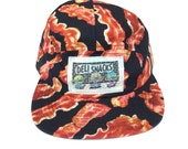 Bacon Five Panel Hat