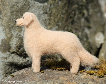 Dog Needle Felting Kit - Golden Retriever