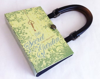 The Secret Garden Recycled Book Purse