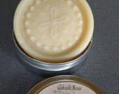 Solid Lotion Bar - Lavender - All Natural in Travel Tin