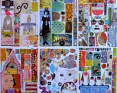 Collage Sheets - set G