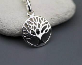 Tree of Life Sterling Silver Necklace - Tree of Life Necklace