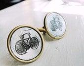 Bicycle Cuff Links - Acid Bath Series