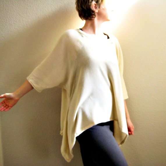 i have seen the light - womens high fashion triangle top - soft open weave