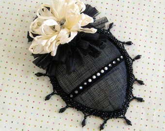 Black Tie Cocktail Hat
