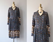 SALE Bandipur dress • 70s indian cotton dress • vintage 1970s hippie festival dress