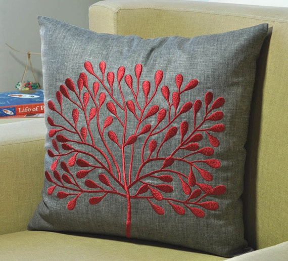 Gray Couch Pillows: Decorative Pillow Cover Throw Pillow Cover Couch By KainKain