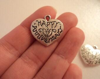 Happy Anniversary Heart - Set of 4 - #B180