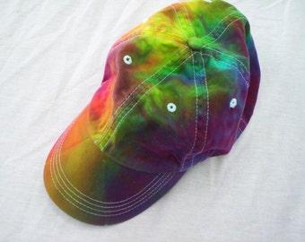 Rainbow Colors Tie Dye Hat