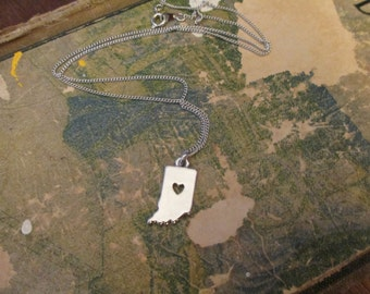 The Warren Necklace - Small Indiana Charm Necklace