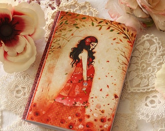 illustrated notebook - Mother Nature