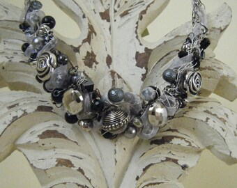 Argentine Crocheted Wire Necklace