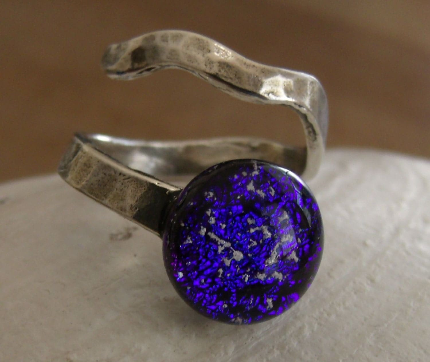 cremation jewelry ring sterling silver adjustable band