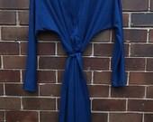 Ladies 1970's wrap dress