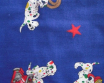 Firehouse Dog Cotton Fabric