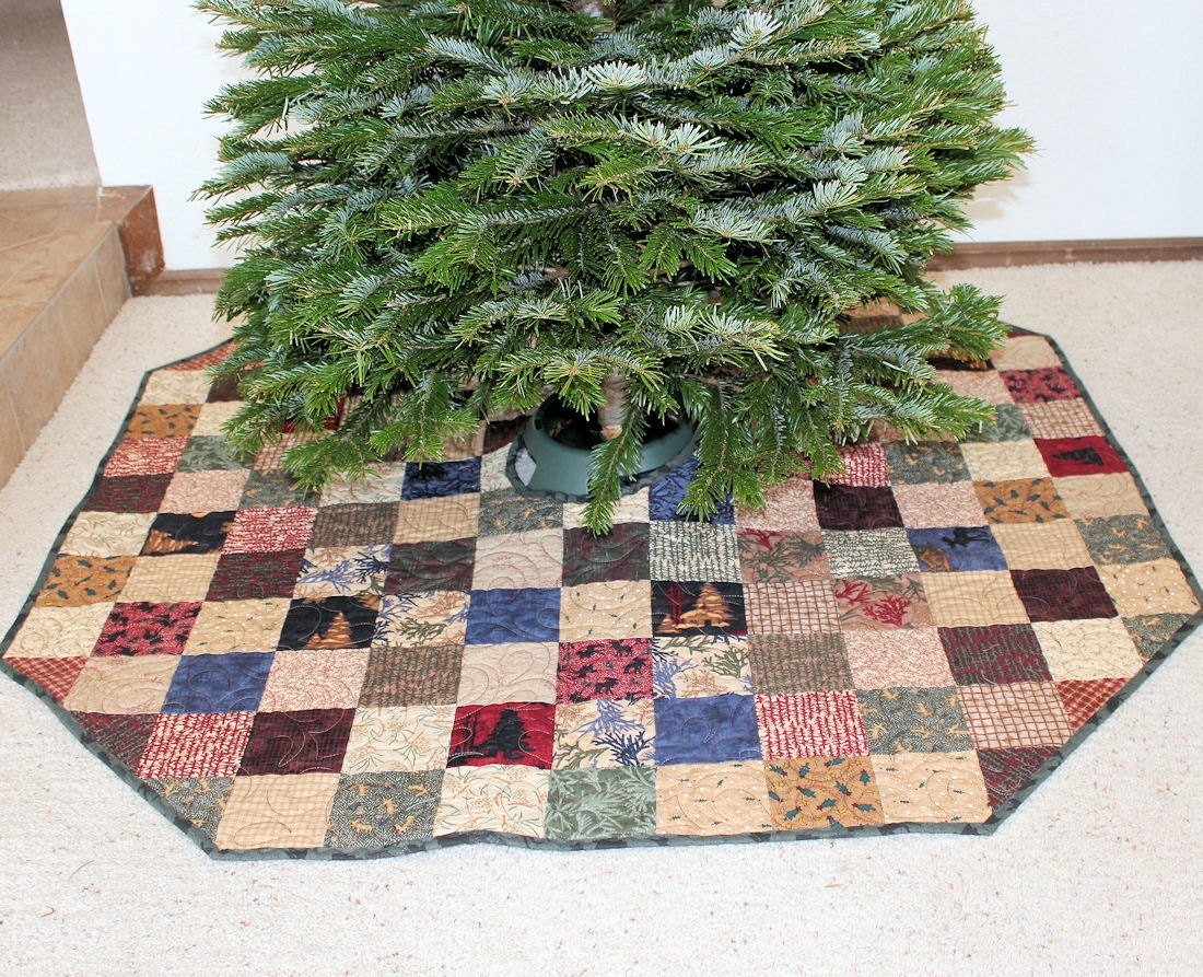 Country Rustic Christmas Tree Skirt 44 inch by ...
