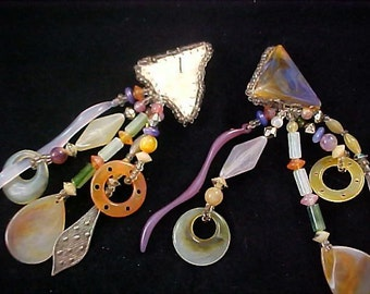 CELLULOID Dangle Shoulder Duster Fabulous Earrings