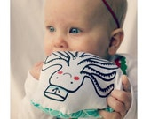 Organic Baby Soft Teether and Rattle - Octopus Sailor