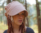 SALE Wrap Bonnet Sun Cap in Linen