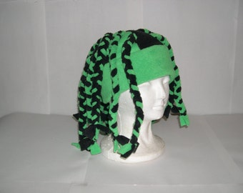Fleece Dreadlock Hat Pick your own solid colors NEW Adult/Childs