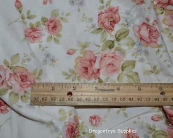One Yard of Elizabeth Floral Fabric