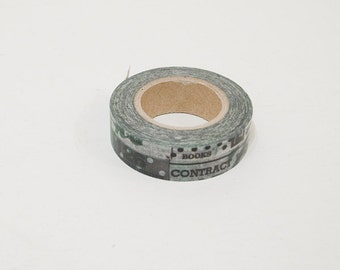 limited edition - 15mm x 15m - washi masking tape by mt - collage