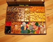 Component Tray Kit for games like Caverna - Version 2
