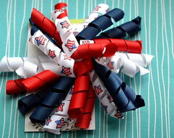 Red, White, and Blue Stars Korker Clip