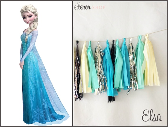 Frozen's Elsa Tassel Garland