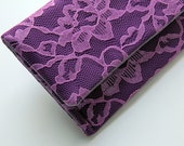 The AMELIA Clutch - Radiant Orchid Clutch - Wedding Clutch - Bridesmaid Bag, Purple Bridesmaid Clutch - MADE to ORDER