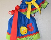 Sesame Street Pillowcase dress and Bloomers