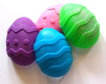 Easter Egg Soap - Easter Soap - Easter Egg - Spring - Easter - You Choose Color and Scent - Soap for Kids