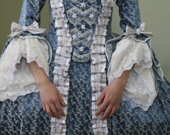 Blue Marie Antoinette gown