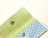 Card Wallet - Blue Hello