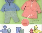 Simplicity sewing pattern 3658, Baby size XXS to L,   knit pants, skirt, hooded sweatshirt .  Simply Baby