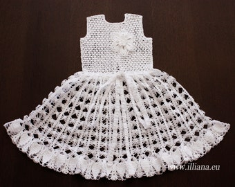 Crochet  Dress  PDF Pattern no 91
