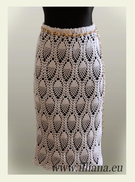 Crochet Pattern Skirt : Skirt Crochet Pattern No 88