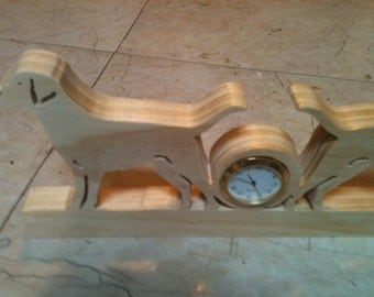 Wooden Double lab clock