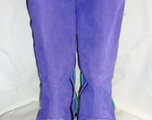 Reserved  for Marnie ( Balance) Marengo Minnie Boots, made to order in your size,