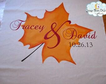 Aisle Runner, Wedding Aisle runner, Fall Wedding Aisle Runner// Quality Fabric Won't Tear - Use again at the Reception