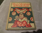 Alice in Wonderland Vintage book Collectible Alice's adventures in Wonderland RARE Lewis Carroll 1897