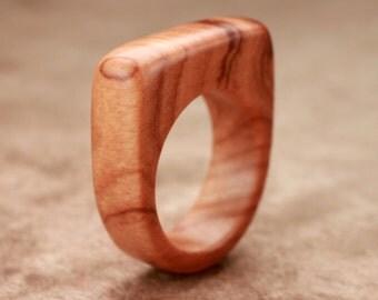 Size 6.5 - Bethlehem Olive Wood Ring No. 16